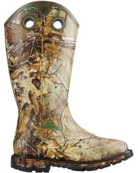 Ariat - Conquest Rubber Square Toe Hunting Boots - Lyst