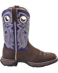 Durango - Lady Rebel Saddle-lace Western Boots - Lyst