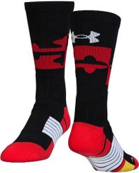 Under Armour - Unrivaled Maryland Crew Socks - Lyst