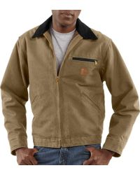 Carhartt - Sandstone Detroit Jacket - Lyst