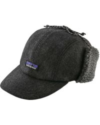 254fcc642fb Patagonia - Recycled Wool Ear Flap Cap - Lyst