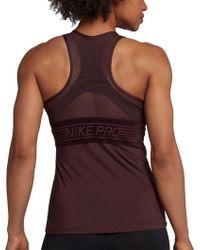 Nike - Pro Deluxe Tank Top - Lyst