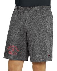 Champion - Authentic Cotton Graphic Shorts - Lyst