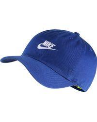 2e40fd28be8 Lyst - Nike Futura True 2 Hat Blue Jay  White in Blue for Men