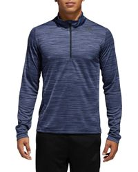 adidas - Ultimate 1/4 Zip Pullover - Lyst
