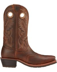 Ariat - Heritage Roughstock Western Boots - Lyst
