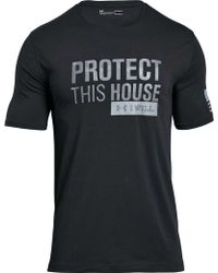 Under Armour - Protect This House 2.0 T-shirt - Lyst