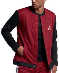 985a8463e8 Lyst - Nike Air Half-zip Jacket in Red for Men