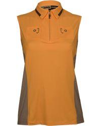 Jamie Sadock - Double Pocket Sleeveless Golf Polo - Lyst