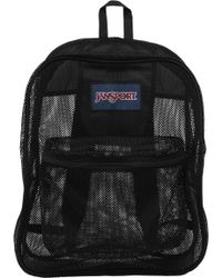 d823aee91658 Lyst - Mi-Pac Satin Mesh Black Backpack in Black for Men