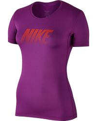 Nike - Pro Cool Graphic T-shirt - Lyst