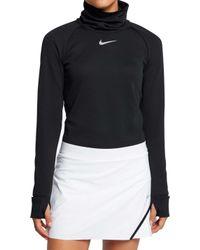 Nike - Aeroreact Warm Golf Top - Lyst