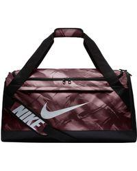 Lyst - Nike Rasilia Medium Printed Training Duffle Bag for Men 6c39751a16