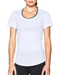 Under Armour - Threadborne Streaker Running T-shirt - Lyst