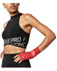 Nike - Intertwist Crop Tank Top - Lyst