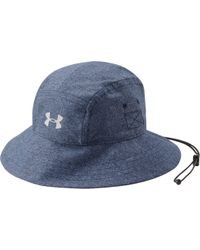 3084df6aaf3 Lyst - Under Armour Men s Ua Armourventtm Bucket 2.0 Hat in White ...