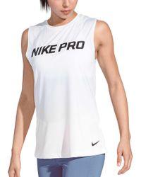 Nike - Pro Intertwist Muscle Tank Top - Lyst