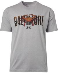 Under Armour - Altimore Crab Graphic T-shirt - Lyst