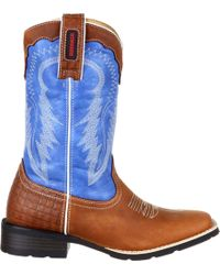 Durango - Mustang Pull-on Western Boots - Lyst