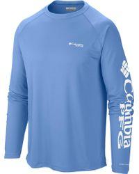 232db0ba5b3 Hurley Jjf Nautic Long Sleeve T-shirt in White for Men - Lyst