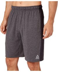 a3ed5d061e4a Lyst - Reebok Printed Woven Shorts in Brown for Men