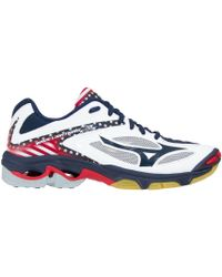 Mizuno - Wave Lightning Z3 Stars And Stripes Volleyball Shoes - Lyst