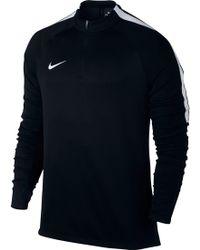 Nike - Squad Long Sleeve Quarter Zip Soccer Shirt - Lyst