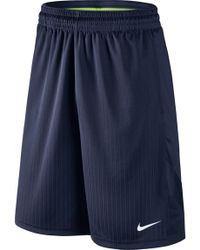 0c9a5012e Lyst - Nike Hyperspeed Topo Buzz Printed Shorts in Blue for Men