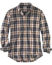 Carhartt - Hubbard Plaid Long Sleeve Shirt - Lyst