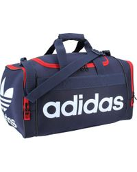 5d2cec643412 Lyst - Adidas Climaproof Menace Duffel in Red for Men