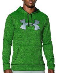 36e93d103 Under Armour Ua Storm Armour® Fleece Big Logo Hoodie in Gray for Men - Lyst