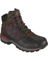 The North Face - Snowsquall Mid Waterproof 400g Winter Boots - Past Season - Lyst