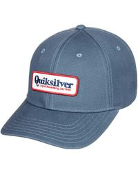 8bb1eb8f32a Lyst - Quiksilver Quicksilver Silver Lining Trucker Hat in Blue for Men