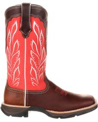 Durango - Lady Rebel Strawberry Sunrise Western Boots - Lyst