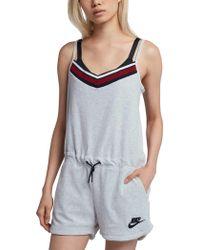 Nike - Sportswear Terry Romper - Lyst