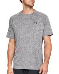 1dcd21ec Under Armour Men's V-neck Tech T-shirt in Green for Men - Lyst