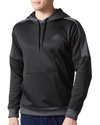 adidas - Team Issue Fleece Hoodie - Lyst
