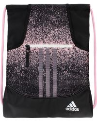 adidas - Alliance Sublimated Prime Sackpack - Lyst 8eec790ac1a4f