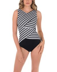 Miraclesuit - Mayan Stripe Brio Swimsuit - Lyst