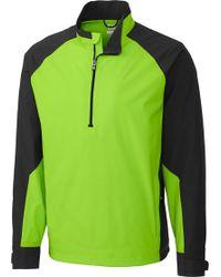 Cutter & Buck - Cb Weathertec Summit Quarter-zip Long Sleeve Golf Pullover - Lyst