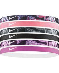 Nike - Printed Assorted Headbands – 6 Pack - Lyst