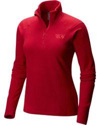 Lyst Mountain Hardwear Sarafin Wrap Sweater For Women In Red