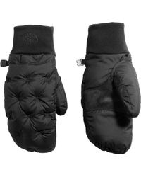 The North Face - Stitched Down Mittens - Lyst