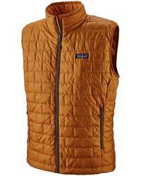 Patagonia Nano Puff Vest - Brown