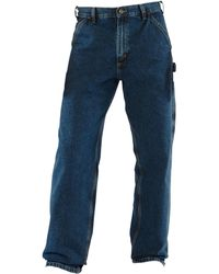 065a96be280 Lyst - Carhartt Washed Denim Work Dungarees in Blue for Men