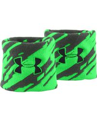 Under Armour - Jacquard Wristbands - Lyst