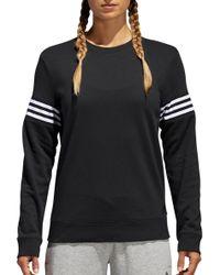 adidas - French Terry Changeover Crew Sweatshirt - Lyst