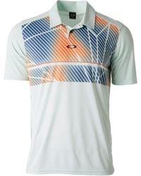 Oakley - Geometric Golf Polo - Lyst