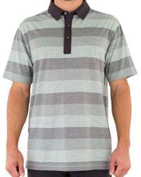 Linksoul - Stripe Knit Polo - Lyst