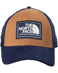 9f6ac176 The North Face Mudder Trucker Hat (silt Grey/zion Orange) Caps in ...